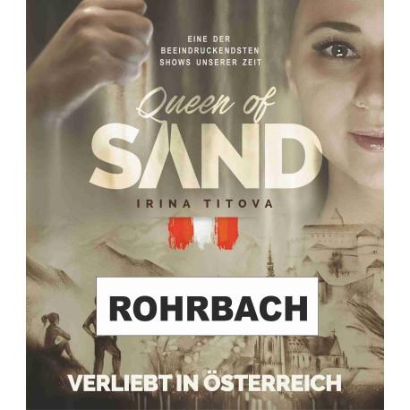 """Irina Titova - Queen of Sand - Sandmalerei Show - """"Verliebt in Österreich"""""""